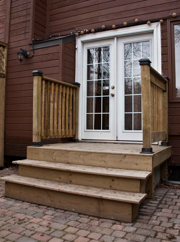 Deck + Stairs