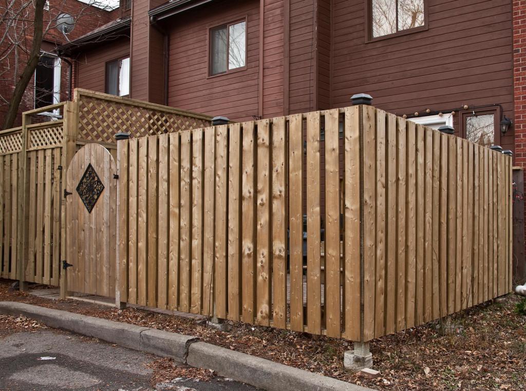 Exterior Fence