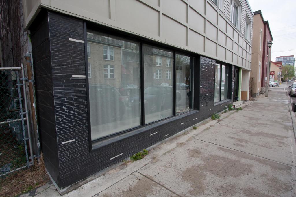 Siding, Windows + Stone
