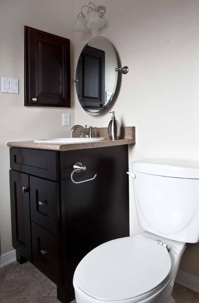 Vanity + Toilet